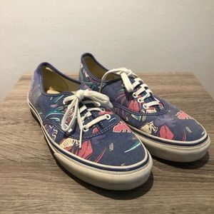 Tropical print VANS Van Doren Anthems